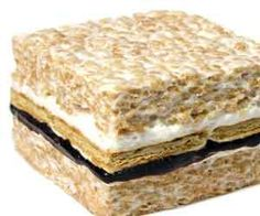 Rice Krispie Smores. Very cool website as well. Lots of neat stuff!