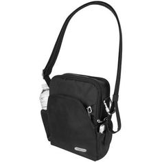 Travelon classic bag #over50traveler: I like the idea of having a cut proof bag. This makes it impossible for someone to tamper with my bag in a busy street or packet metro.