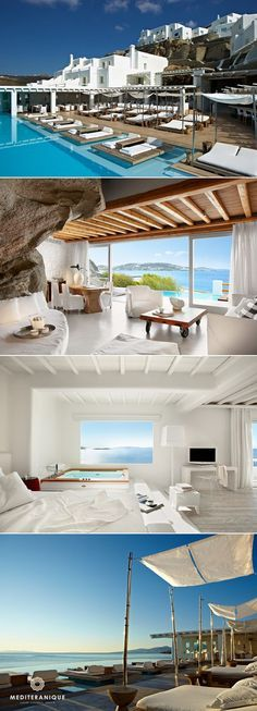 Will stay 1 month in Luxury Boutique Hotels in Greece. Santorini, Mykonos and shipwreck island area Mykonos Hotels, Santorini Greece Hotels, Boutique Hotels, Boutique Hotel Mykonos, Hotels And Resorts, Best Hotels, Amazing Hotels, Florida Hotels, Beautiful Hotels