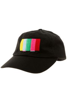 913b5861255 The Turn Off The TV Strapback Hat in Black Mens Dad Hats