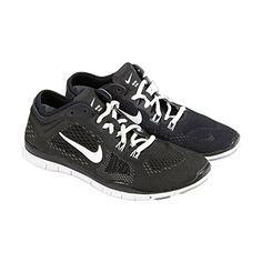 Nike Womens Free 5.0 TR Fit 4 Black/White/Cool Grey/Wlf Grey Training Shoe 7... -- Continue to the product at the image link.