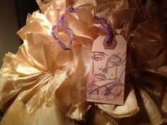 Hand stamped victorian tags by SimpleSouthernSass on Etsy, $6.95