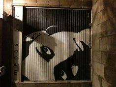 Barcelona Garage Graffiti.