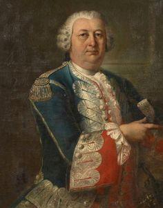 Portrait d'un officier des gardes du corps du Roi, 18th century, French school