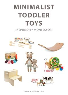Minimalist toddler toys that are beautiful, practical, and encourage toddler learning and growth. Your toddler doesn't need as many toys as you think! Montessori Toddler, Montessori Activities, Toddler Learning, Infant Activities, Toddler Preschool, Best Toddler Gifts, Best Toddler Toys, Best Toys For Toddlers, Gifts For Toddlers