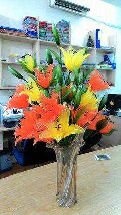 Cung cấp hoa voan sỉ và lẻ, giá rẻ nhất thị trường, nhận đặt làm theo yêu cầu | Cây giả - Hoa giả nghệ thuật | Trang 9 - Touch Version