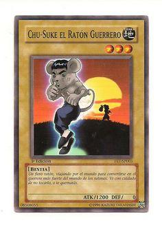 Chu Suke El Raton Guerrero FET-SP003 Konami Yu Gi Oh 1st Edition Card Free U S Shipping SJG