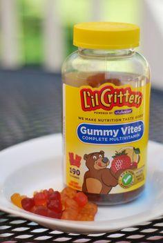 Lil Critters Vitamins simplegreenmoms.com