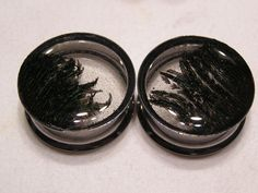 Peacock Feather Resin Plugs  2g 0g 00g by PullThePlug on Etsy, $19.99