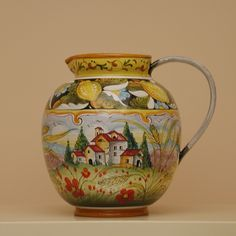 Tole Painting, Pottery, Home Decor, Dish Sets, Porcelain Ceramics, Italian Pottery, Tea Pots, Dishes, Manualidades
