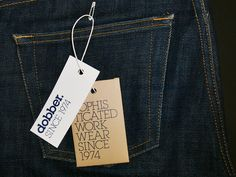 New graphical profile for one of Sweden's top denim brands in the 1980s.
