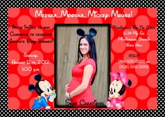 Mickey Mouse Inspired Baby Shower Invitation   Great For A Boy   You Print  | Baby Mickey Mouse, Print... And Invitationu0027