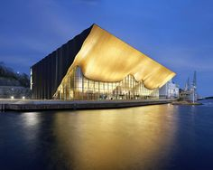 Kilden Performing Arts Centre in Kristiansand, Norway by ALA Architects