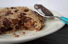Choc chunk breakfast cookie | including cake