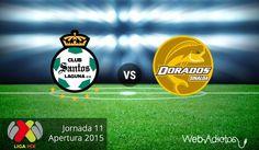 Santos vs Dorados, Jornada 11 del Apertura 2015 ¡En vivo por internet! - http://webadictos.com/2015/09/29/santos-vs-dorados-apertura-2015/?utm_source=PN&utm_medium=Pinterest&utm_campaign=PN%2Bposts