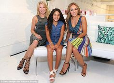 Having a blast: The Real Housewives Of New Jersey star also posed with her…