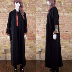 third incarnation black duster / bell by arsenickittyvintage