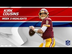 Kirk Cousins Tears Through Oakland's Defense! | Raiders vs. Redskins | Wk 3 Player Highlights - YouTube