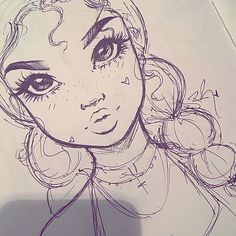 Quick lil pen sketch before bed✨ goodnight lovelies •  •  •  •  #art #sketch #pen #ink #draw #sketching #sketches #drawing #drawings #artist #artwork #instaart #illustration #instagood #inspiration #Godisgoodallthetime