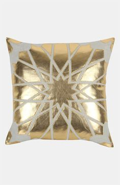 Blissliving Home 'Amira' Pillow | Nordstrom- Could recreate something similar with gold fabric paint?