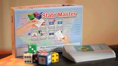 State Master - Learn basic facts about the 50 U.S. states playing this fun, easy-to-learn card game! State Master is simple to learn, easy to set up, requires little space, can be played in as little as 10 minutes, and keeps all players engaged throughout as everyone plays in every round (i.e., no waiting your turn!).