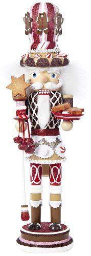Kurt Adler Hollywood Gingerbread Nutcracker with Star Cookies, 18-Inch Kurt Adler http://www.amazon.com/dp/B00IIQQK2K/ref=cm_sw_r_pi_dp_bk7Ztb1S78VTTVYK