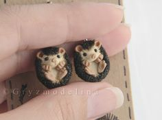 hedgehogs for stitch marker ideas!