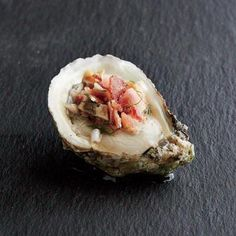 Oysters with Bacon Mignonette | CookingLight.com