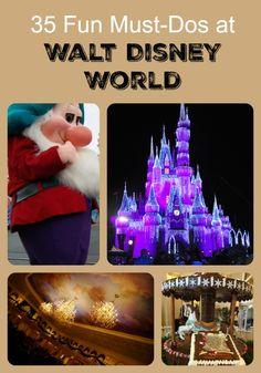 35 Must-Dos in Walt Disney World