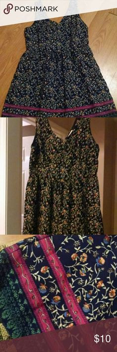 Cute summer dress Only worn twice. Very comfortable. Not really a true mini. About 2 inches above the knee one clothing Dresses Mini