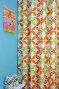 Oranje Gordijn Four Leaves | P.T. 5840 Pop - Tango 404 | Kindergordijnen
