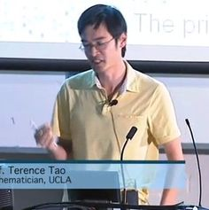 Terence Tao : Prime Numbers   http://www.youtube.com/watch?v=lqKSXk5Xwg8