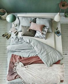 Colourpallet idea's for my new bedroom