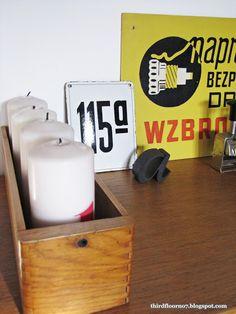 Dizajnerski zegar z PRL-U