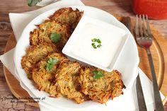 placki_ziemn_piekarnik Tandoori Chicken, Chicken Wings, Meat, Dinner, Ethnic Recipes, Food, Dining, Food Dinners, Essen