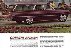 1963 Ford Galaxie 500 Country Sedan Station Wagon