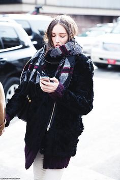New York Fashion Week - Street Style Fall/Winter 2014/2015