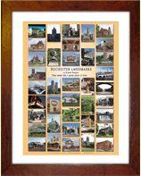 Rochester Landmarks Poster