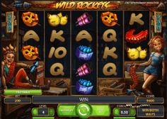 Play for free Wild Rockets video slot by Netent