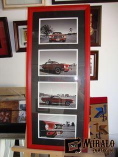 Miralo Enmarcado - Taller de Marcos Cuadros y Espejos: Enmarcado de fotos - Marcos chatos modernos y passepartout