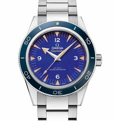 ByCody D. Smith  Although it may seem like another Seamaster 300 release from Omega, these two new additions to the line feature two precious materials that take the stage front and center. All of the dimensions