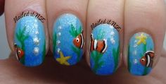 Clown Fish Nails