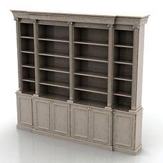 Download 3D Bookcase