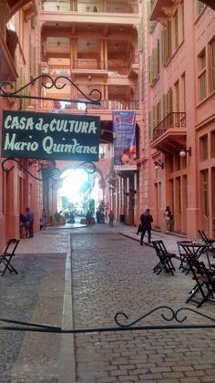 Casa de Cultura Mario Quintana em Porto Alegre, RS