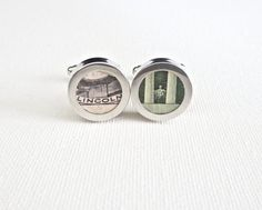 Abraham Lincoln Cufflinks Cuff Links Money Wedding 5th Fifth Anniversary for Him Husband Groom Groomsmen Groomsman Gift