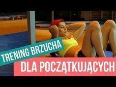 TRENING NA PŁASKI BRZUCH - 10 MINUT / PROSTE ĆWICZENIA - YouTube Zumba, Health Fitness, Abs, Muscle, Yoga, Youtube, Workout, How To Plan, Sports