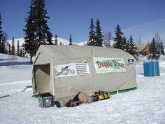 Finger Lake, AK | Alaska Iditarod Trail | Checkpoint 5 | Photo by Sue Frause (2004)