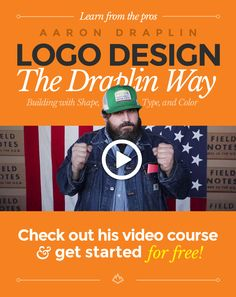 Learn from the pros: Logo Design the Aaron Draplin Way