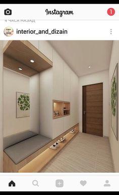 hallway entrance wardrobe flur eingangsbereich Home DecorPin - New Ideas