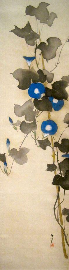 Morning Glories, Kamisaka Sekka (ca. 1920-1940).